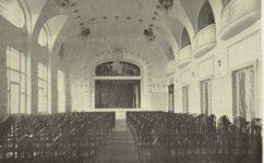 divadelní sál -  Světozor 13.10.1912