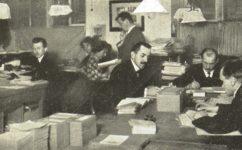 manipulační oddělení -  Světozor 24.02.1911