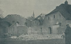 bourání vojenského skladiště Na rybách -  Český svět 18.03.1926