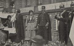 Komenského slavnosti, Havlíček se loučí na cestě do Brixenu - Český svět 24.8.1922