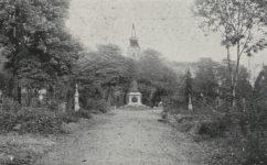 hřbitov - Světozor 31.10.1913