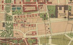Královské Vinohrady a okolí (plán z roku 1905) -