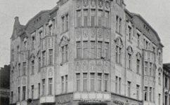 kavárna Na Palmovce - Český svět 20.05.1910