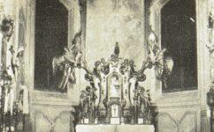 Hlavní oltář kaple - Světozor 06.01.1911