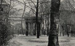 zahrada kláštera Voršilek - Světozor 20.08.1915