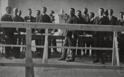 volební úřadovna -  Český svět 24.05.1907