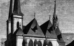kostel sv. Petra - Světozor 2.3.1877