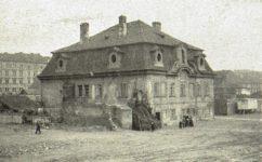 Podskalská třída, dům u Kněžourů - Světozor 17.03.1911