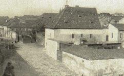 Podskalská třída od železničního mostu. - Světozor 17.03.1911