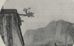 Pohled na stěnu nad Hlubočepy - Český svět 15.03.1906