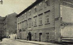 Růžová rodný Fugnerův dům -  Světozor roč. 13. č. 44