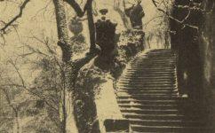Schodiště Vrtbovské zahrady - Světozor 07.02.1917