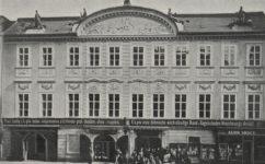 budova pojišťovny určená k demolici - Český svět 14.06.1907