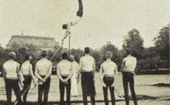 Veřejné cvičení kadetní školy -  Světozor 18.07.1913