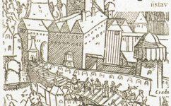 Praga Bohemiae metropolis, accvratissime expressa 1562 - Praga Bohemiae metropolis,