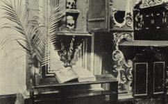 klášter, lebky českých králů - Český svět 5.5.1911