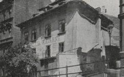 pražská stoletá kavárna - Český svět 23.7.1909