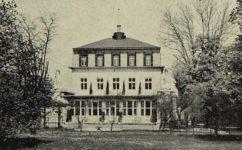 letohrádek Bianca, rekonstrukce od Kotěry -  Český svět 28.7.1911
