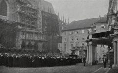 při návštěvě Františka Josefa I. - Český svět 19.04.1907