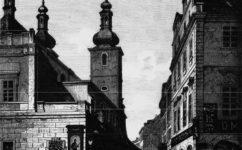 kostel sv. Havla - Světozor 9.10.1885