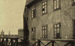 V rybářích, fasáda Švihovského domu - Světozor 27.12.1916