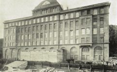 stavba ústředních ředitelství - Český svět 31.1.1913