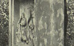 památník v zámeckém parku - Český svět 22.9.1905