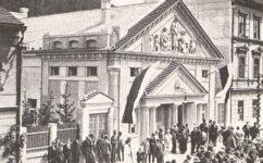 otevření divadla - Světozor roč. 25 č. 25