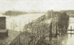 primátorský ostrov a štvanice - Světozor 12.02.1909