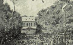 Všesokolský slet, 1882 -  Český svět č. 44-45, 1912