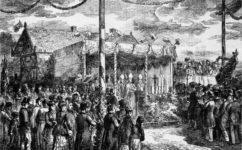 svěcení mostu - Světozor 20.12.1878