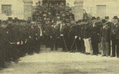 sjezd hasičské župy - Světozor 04.09.1908