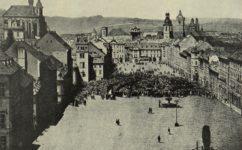 Koňský trh 1848 - Český svět 10.3.1911