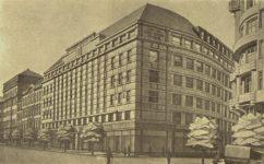Roithův návrh budovy pošt - Český svět 15.09.1927