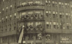 Vítání Masaryka -  Český svět 17.01.1919