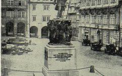 radeckého pomník cca 1875. - Světozor roč. 13. č. 31