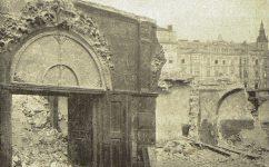 portál domu. - Světozor 09.04.1909