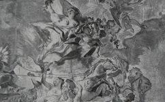 freska na schodišti. - Český svět 14.11.1913